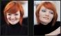 До и После makeup