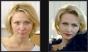 До и после - make-up