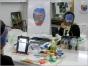 Рабочие моменты в профессиональной школе-студии гримеров Аллы Чури