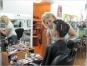 рабочие моменты в школе грима и макияжа