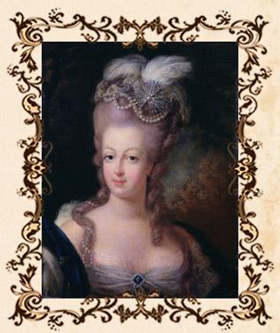 Портрет французской королевы Марии-Антуанетты (1775). Неизвестный художник; возможно, Готье-Даготи (1740-1786)