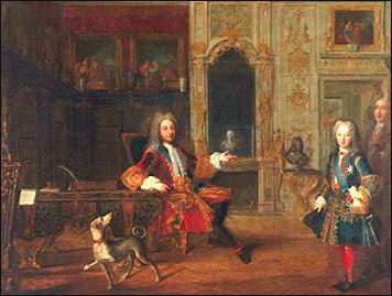 Жан-Батист Мартен, Версаль в 1722 г.