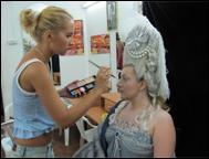 Создание образа Марии-Антуанетты. Рабочие моменты