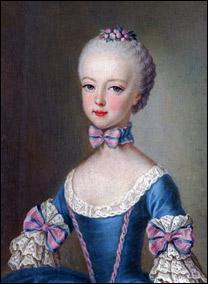 1762 г.Марии-Антуанетте семь лет