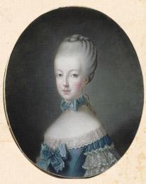 Мария-Антуанетта, эрцгерцогиня. XVIII в. Шарпантье. Версаль