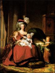 Мари Виже-Лебрен. Портрет Марии-Антуанетты с детьми. 1787 г.