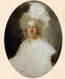1791 г. Незаконченный портрет Марии Антуанетты.