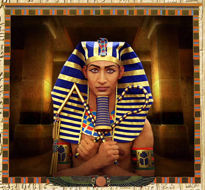 Древний Египет.Фараон Эхнатон