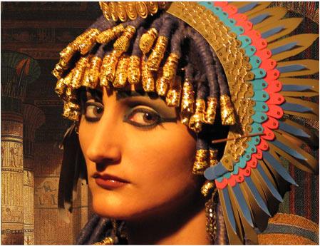 Грим исторической ретроспективы.Древний Египет.Клеопатра.