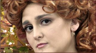 Исторический ретро-грим Клодии Пульхры Терции