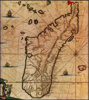 Карта Мадагаскара