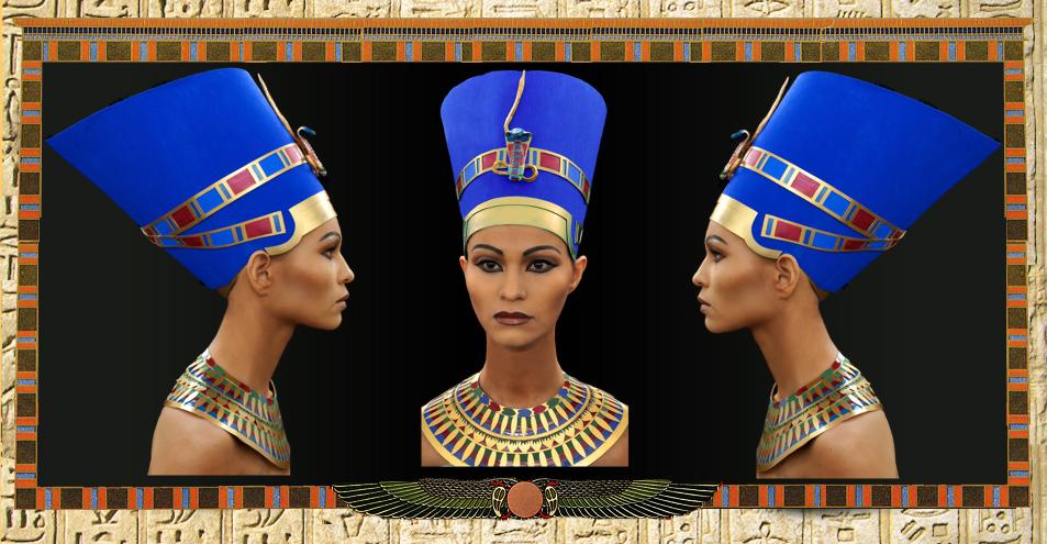 Древний Египет. Царица Нефертити