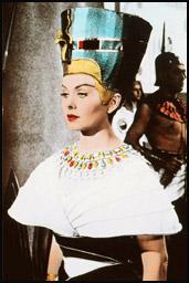 Кадр из фильма Нефертити, королева Нила