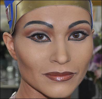 Царица Нефертити. Описание гримерных работ