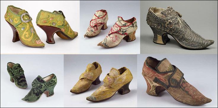 обувь рококо