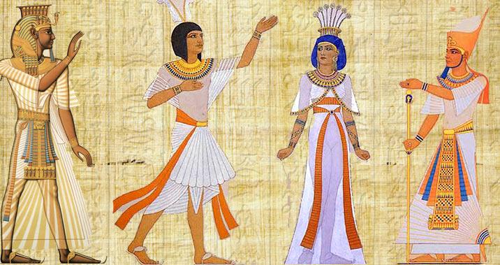 Костюм и символы власти фараона