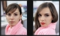 макияж - До и после