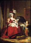 Мария-Антуанетта с детьми. Элизабет ВИЖЕ-ЛЕБРЕН