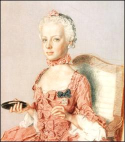 1762 г.портрет кисти Жана-Этьена Лиотара