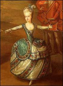 1765 г.Мария-Антуанетта и ее братья, Фердинанд и Максимилиан танцуют в балете, поставленном по случаю бракосочетания Иосифа II с Марией Баварской.