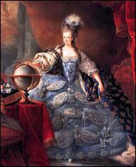 1769 г.Мария-Антуанетта играет на пианино.Художник Франц Ксавер Вагеншен