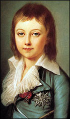 Дофин Луи-Шарль. Портрет работы Александра Кушарского. 1792 г.