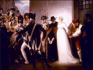 «Мария-Антуанетта перед казнью». Картина английского художника  XIX века Джорджа Гамильтона.