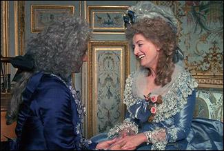 Шарлотт де Тюркейм в роли Марии-Антуанетты