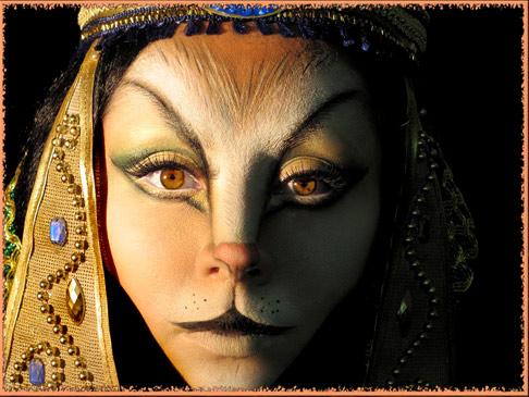 Древний Египет.Богиня-кошка Басет