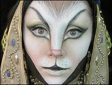 Поиск и пробы фантазийного образа богини Бастет