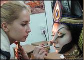Гримерные работы создания образа богини Бастет.