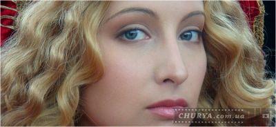 Красота макияжа. Крупный план