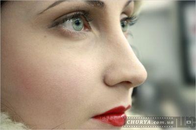 фото крупный план макияжа