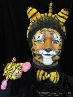 грим тигренка
