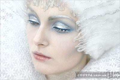 грим - образ Снежной Королевы